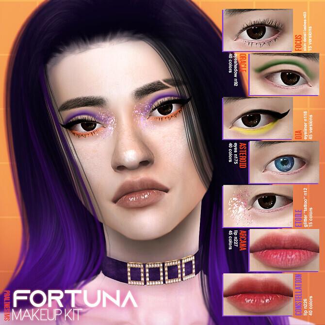 FORTUNA Makeup Kit at Praline Sims image 2962 670x670 Sims 4 Updates