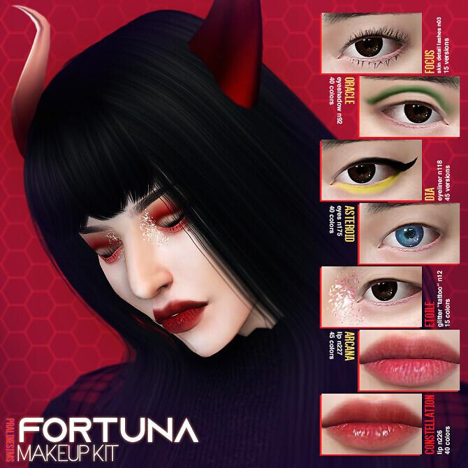 FORTUNA Makeup Kit at Praline Sims image 2972 670x670 Sims 4 Updates