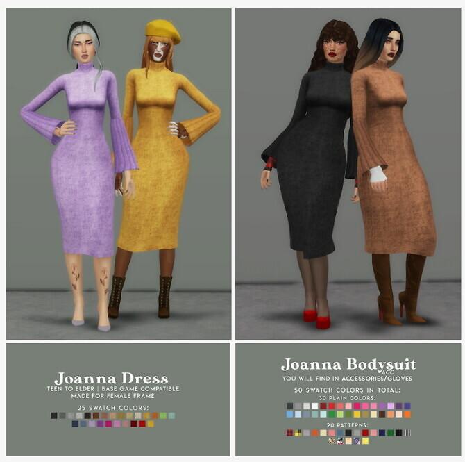 JOANNA DRESS BODYSUIT