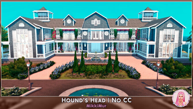 Sims 4 Hound's Head House at MikkiMur