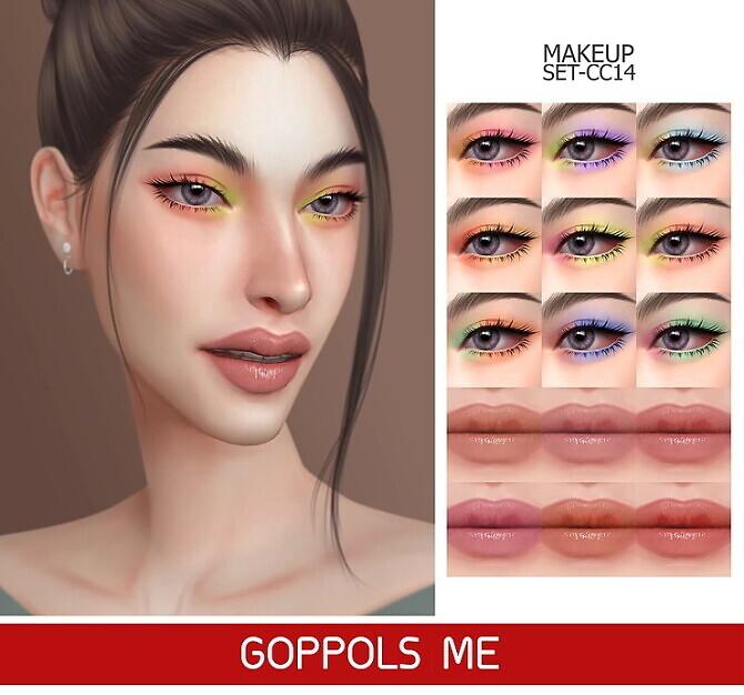 GPME-GOLD MAKEUP SET CC14