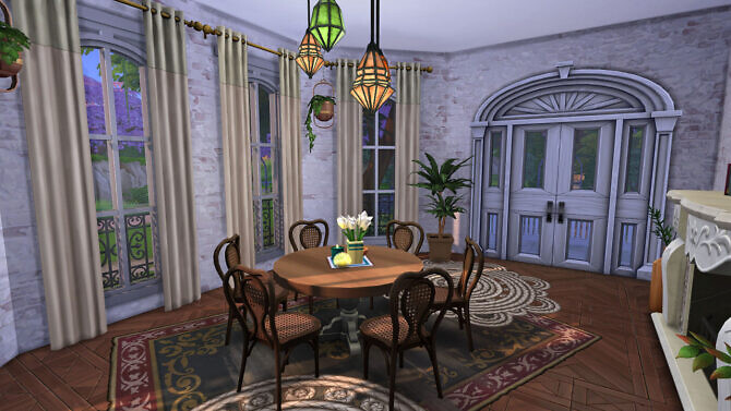 Sims 4 Haunted Paranormal Manor at Frenchie Sim