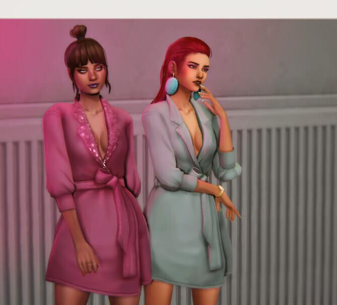 Sims 4 VERONICA dress at Viiavi