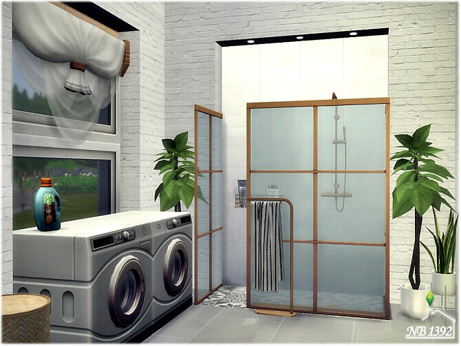 Sims 4 Moderato Bathroom by nobody1392 at TSR