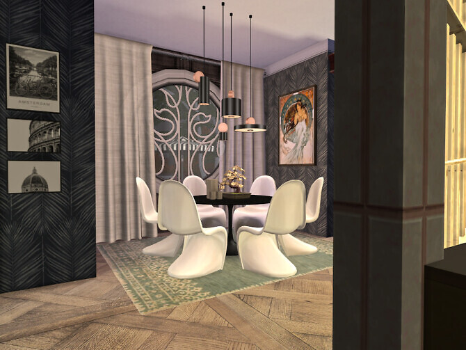 Sims 4 Bearwood Dining by fredbrenny at TSR