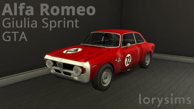 Alfa Romeo Giulia Sprint GTA by LorySims