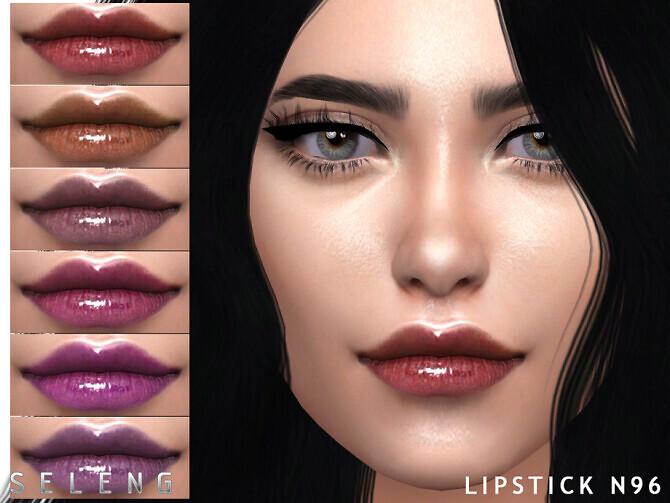 Sims 4 Lipstick N96 by Seleng at TSR