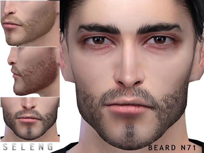 Sims 4 Beard N71 by Seleng at TSR