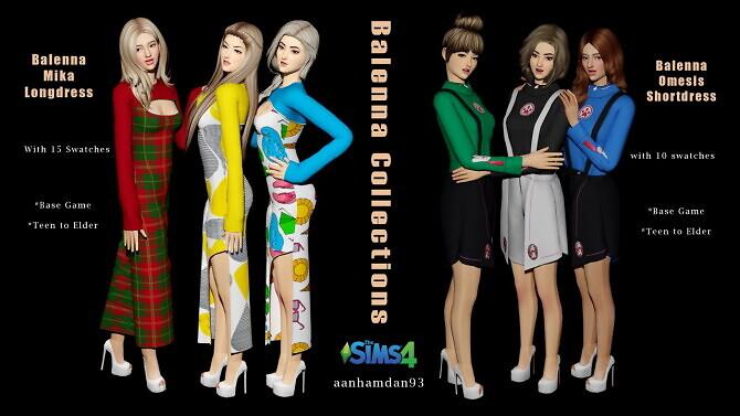 Sims 4 Balenna Collections at Aan Hamdan Simmer93