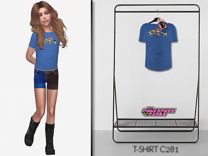 Sims 4 Powerpuff Girls T shirt C281 by turksimmer at TSR