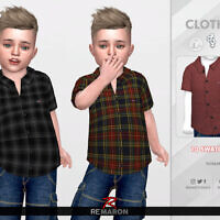 Formal Shirt For Toddler 01 By Remaron