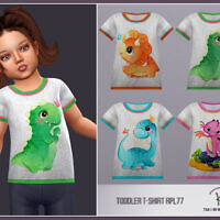 Toddler Girl T-shirt Rpl77 By Robertaplobo