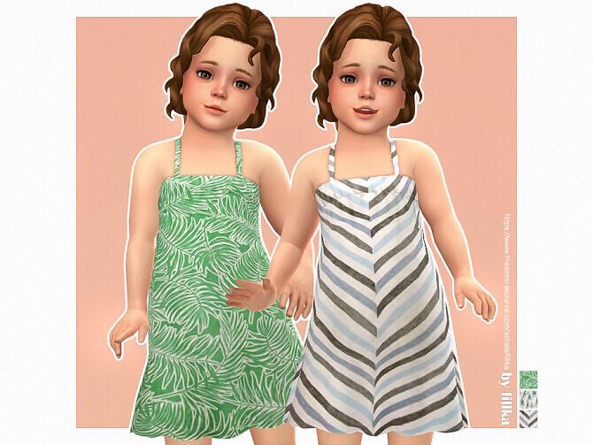 Sims 4 Paola Dress by lillka at TSR