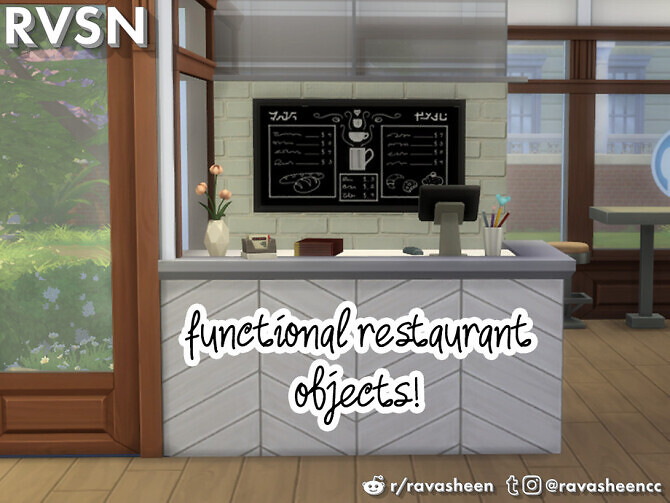 Enjoy The Lentil Things Restaurant Set by RAVASHEEN