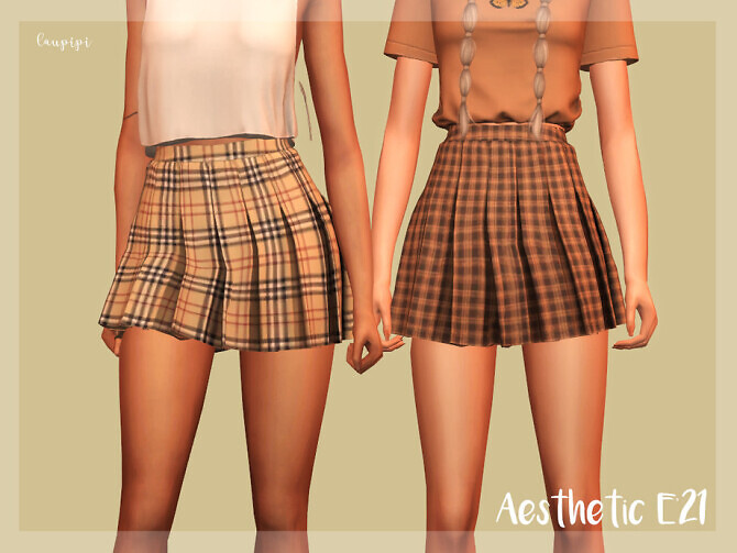 Pleated Skirt BT384 by laupipi