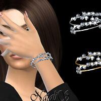 Diamond Cluster Bracelets By Natalis