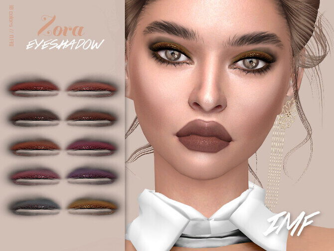 Sims 4 IMF Zora Eyeshadow N.179 by IzzieMcFire at TSR