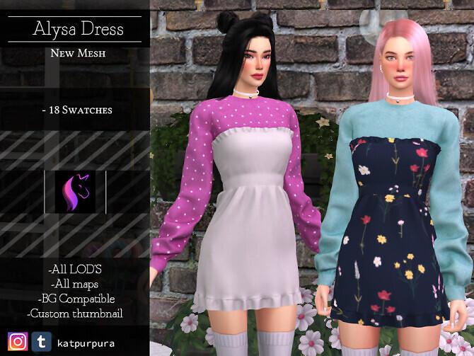 Alysa Dress by KaTPurpura