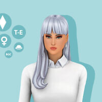 Lisa Hairstyle By Simcelebrity00