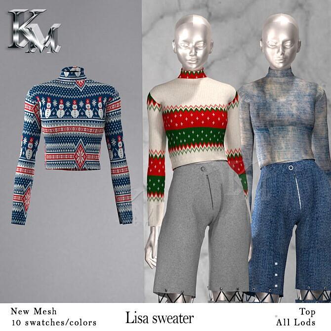 Sims 4 Lisa Sweater at KM