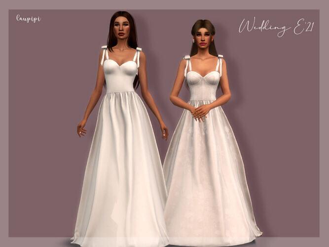 Wedding Dress Dr-391 By Laupipi