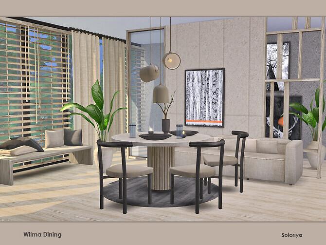 Wilma Dining Room by soloriya