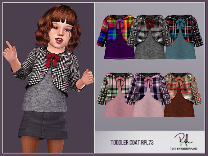 Toddler Coat RPL73 by RobertaPLobo