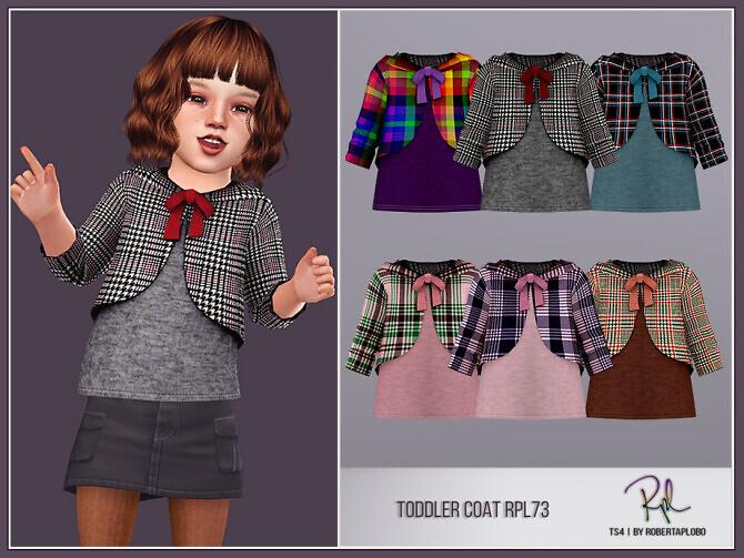 Sims 4 Toddler Coat RPL73 by RobertaPLobo at TSR