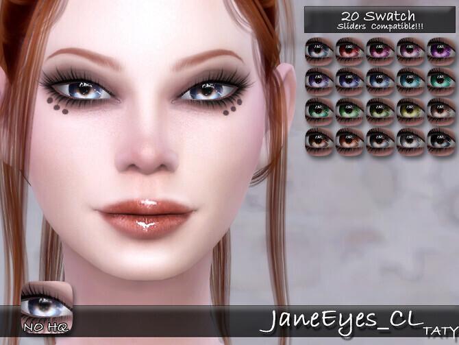 Sims 4 Jane Eyes CL by tatygagg at TSR