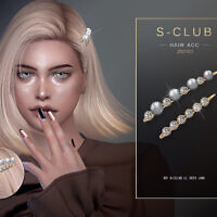 Pearl Hairpin 202103 By S-club Ll