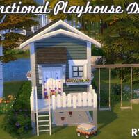 Functional Playhouse Door By Ravasheen
