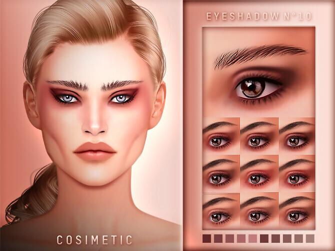 Eyeshadow N10 by cosimetic
