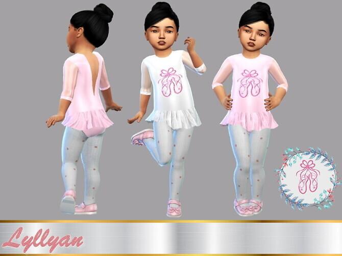 Baby ballerina dress by LYLLYAN