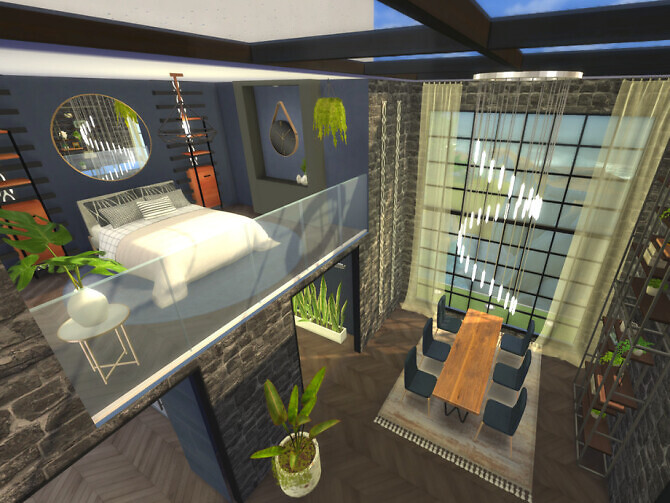 Sims 4 Waterfall Residency by A.lenna at TSR