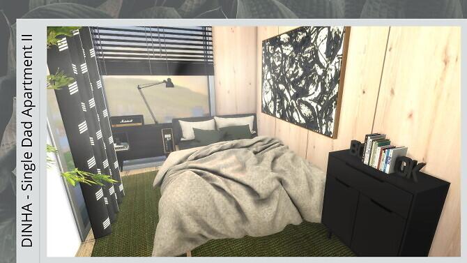 Sims 4 SINGLE DAD CONDO II at Dinha Gamer