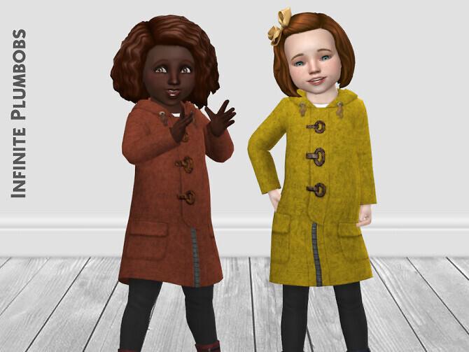 IP Toddler Felt Coat SEASONS by InfinitePlumbobs