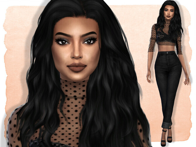 Sims 4 Rachel Fischer by Jolea at TSR