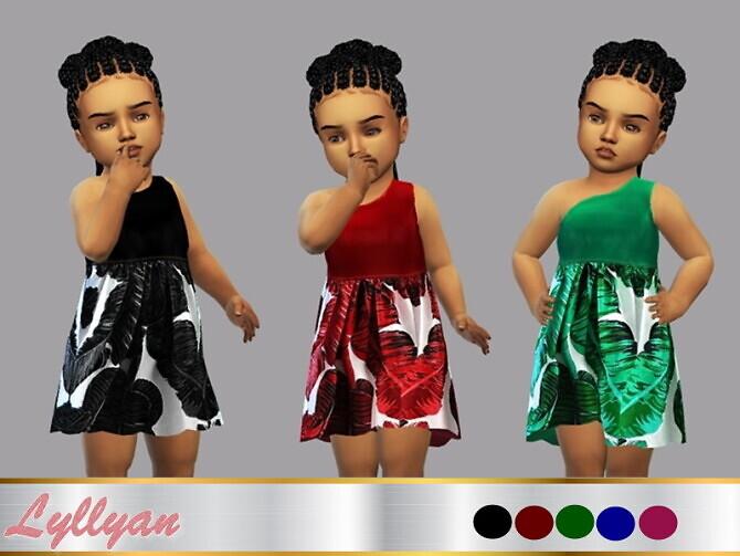 Dress Patricia Toddler by LYLLYAN