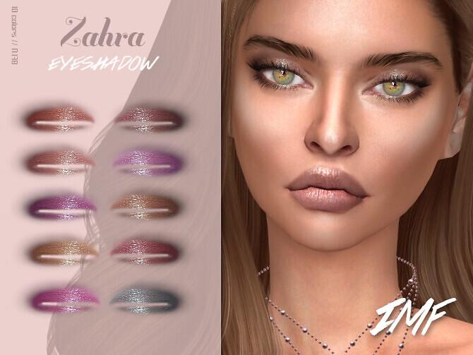 Sims 4 IMF Zahra Eyeshadow N.178 by IzzieMcFire at TSR