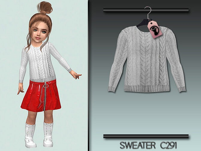 Sims 4 Sweater C291 by turksimmer at TSR