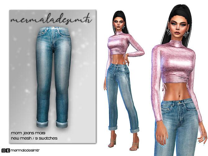 Sims 4 Mom Jean MC119 by mermaladesimtr at TSR