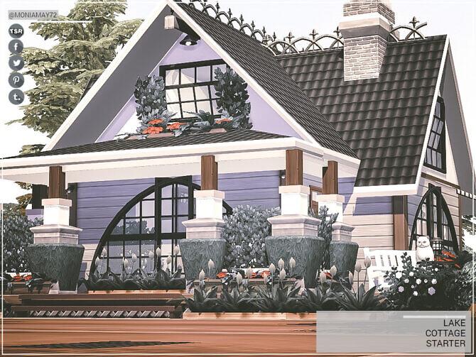 Sims 4 Lake Cottage Starter by Moniamay72 at TSR