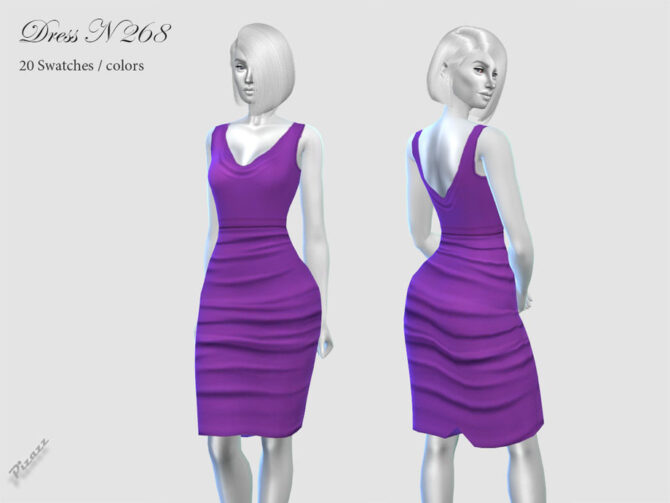 Above Knee Sims 4 Dress