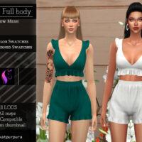 Adara Full body Sims 4 outfit