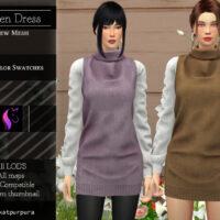 Aileen Sims 4 Dress by KaTPurpura