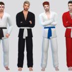 Basic Karate Uniform Sims 4 CC
