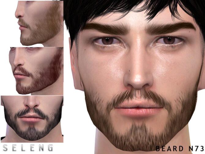 Sims 4 Beard N73 by Seleng at TSR