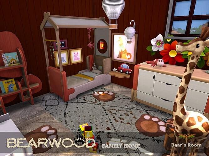 Bearwood Bears Sims 4 Room