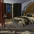 Bearwood Master Bedroom Sims 4