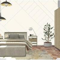 Bedroom Sims 4 Zwolle By Artvitalex